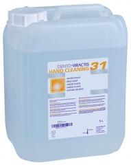 Solution lavante pour mains Dento-Viractis 31 Le bidon de 5 Litres sans pompe 22972