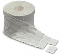 Tampons absorbants en cellulose prédécoupés PurZellin   30307