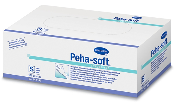 Gants en latex non poudrés Peha-soft   28229