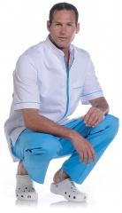 Tunique Arthur Blanc/Bleu 544224