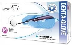 ERGOFORMTM Micro-Touch Denta-Glove Blue Nitrile  28372