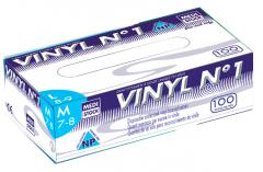 Gants vinyl n°1 non poudrés  28535