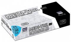 GANTS NITRILE MEDI-TRIL NOIR  28576