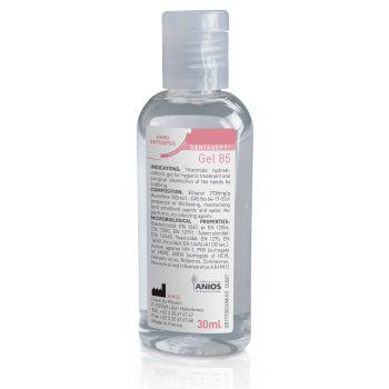 Gel hydro-alcoolique Dentasept 85  Le flacon de 30 ml 22962